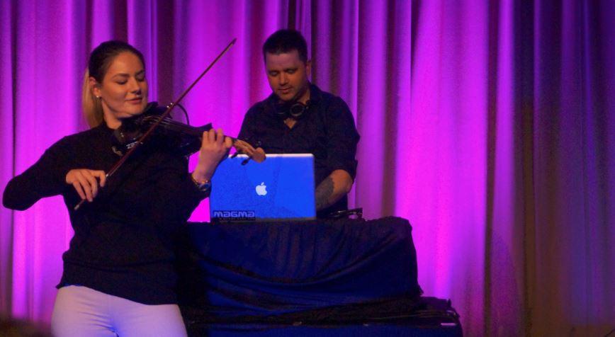 DJ + fiolin